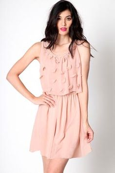 bridesmaid dress - its blush, but super cute!
