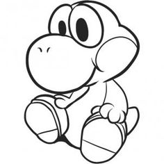 Draw Baby Yoshi, Step by Step, Drawing Sheets, Added by Dawn ...