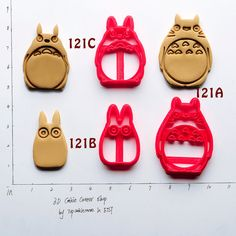 This Totoro cookie cutter ($7.80). | The Ultimate Gift Guide For All Your Miyazaki-Obsessed Friends