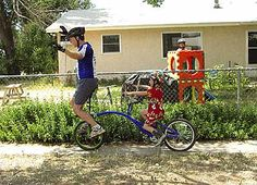 Unicycle with Trailer