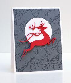 https://flic.kr/p/pYx73u   Penny Black CAS Reindeer   Details: jeanmanis.com/2014/12/penny-black-simplicity-sister/  51-062 Leap of Joy 30-132 Yuletide Greetings.