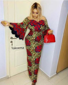 Ankara Long Gown Styles, Latest Ankara Styles, Latest African Fashion Dresses, African Print Dresses, African Print Fashion, African Dress, Dress Styles, African Attire, African Wear