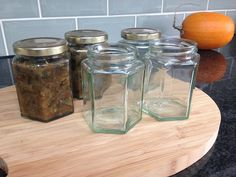 Sterilising glass jars is really important before preserving food at home. Here are five ways you can sterilise glass jars ready for home preserving.
