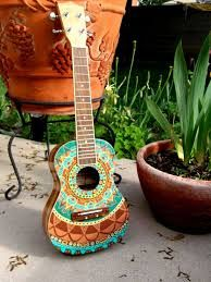 Image result for painted ukulele tumblr