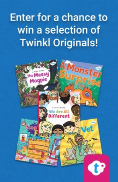 Win a free Twinkl Originals storybook! Get your children excited about reading by winning a free book posted right to your door. Simply click on the pin and enter your details over on our website to enter. Be quick, giveaway limited whilst stocks last. UK entries only. #giveaway #childrensbooks #books #reading #teachingresources #teachingideas #parents #family #homeschooling #homeeducation #twinkl #twinklresources #win #freebie #freebook Primary Teaching, Teaching Phonics, Teaching Aids, Primary Education, Maths Resources, Interactive Activities, School Resources, Classroom Inspiration, Journal Inspiration