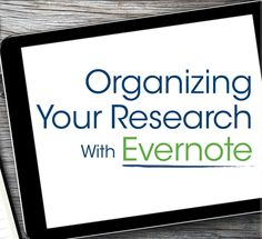 Hard Drive v. Evernote for Genealogy: Which Should I Use? #genealogy #evernote