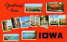 Todos os tamanhos | Greetings from Dubuque, Iowa - Large Letter Postcard | Flickr – Compartilhamento de fotos!