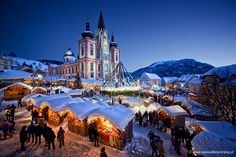 Advent in Mariazell, Austria