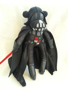 Darth Vader Star Wars Sock Monkey I know what I'm making for the hubby this Christmas!