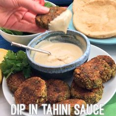 These easy baked falafel patties are sturdy with bright, fresh herbs running through them. Perfect for stuffing into pitas and drizzling with this simple, creamy tahini sauce! V, GF falafel vegetarian veganrecipes glutenfreerecipes 151081762486428216 Vegetarian Recipes Easy, Indian Food Recipes, Whole Food Recipes, Cooking Recipes, Healthy Recipes, Greek Recipes, Israeli Recipes, Cooking Cake, Chickpea Recipes