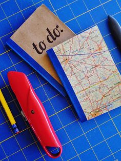 sketchy notions : Paper Bag Notebook diy