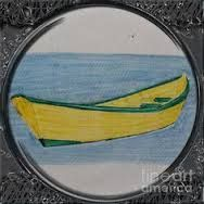 Dory Porthole Vignette by Barbara Griffin Newfoundland quilt images on throw pillows.Newfoundland quilt images on throw pillows. Newfoundland Map, Newfoundland And Labrador, Best Knots, Pictures To Paint, Quilt Pictures, Painting Pictures, Fishing Adventure, Dory, Rock Art