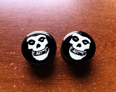 Misfits Plugs by PlugHug on Etsy, $18.00