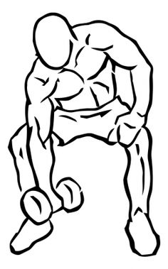 Concentration Curls with Dumbbell 1