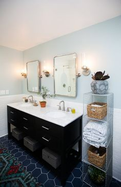 Jen Pinkston's Must-Have Master Bath Remodel   Installation Gallery   Fireclay Tile