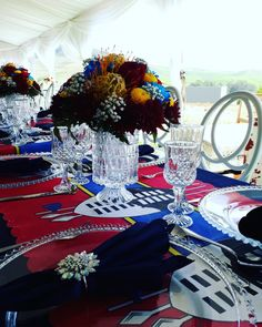 African traditional wedding African Traditional Wedding, Wedding Place Settings, Wedding Things, Table Decorations, Weddings, Creative, Home Decor, Traditional, Places