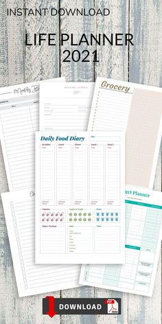 Make your planning more comfortable with this collection of Food Diary Download Templates. Ensure maximum productivity and time management by having a planner. Save money and get organized. Weekly Meal Plan Template, Checklist Template, Planner Template, Diary Template, Journal Template, Breakfast Lunch Dinner, Food Diary, Life Planner, Getting Organized