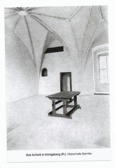 Königsberg (Pr.), Schloß, Marschalls-Remter  - 1925-35