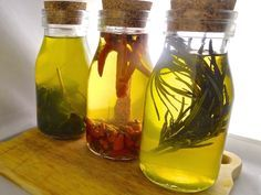 With sous vide you can speed up the process of infusion. Make delicious flavoured oil in just a few hours!