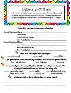 Back to School Parent Survey from Keep Calm and Teach on TeachersNotebook.com -  (2 pages)  - This FREE back to school survey will help teachers connect with parents and learn about their students at the same time.  Grades 3-6 are included.