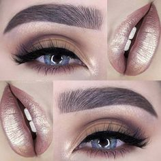 Eyeshadow Tutorials for Beginners - The Go To Eyelook - Natural And Simple Step By Step Tutorials For Beginners With Brown Eyes, Hazel Eyes, Dark Skin, Light Skin, And Even Those Baby Blues. How To Apply Eyeshadow For Smokey Eyes And Green Eyes and Cute Crease - http://thegoddess.com/eyeshadow-tutorials-for-beginners