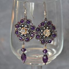 weaving beading earrings class