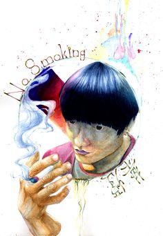 禁煙(No smoking )