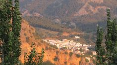 Grazalema - the view at sunrise from our hotel during our tours in West Andalucia
