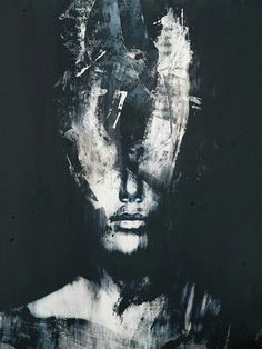 Big Up 19 - Selfiessue - Kunst Abstract Portrait, Portrait Art, Abstract Art, Dark Paintings, Fantasy Kunst, Deep Art, Arte Obscura, Pics Art, Aesthetic Art