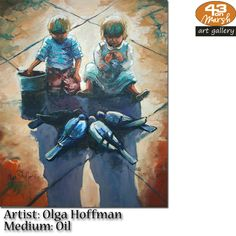 Oil on canvas by Olga Hoffman Contact 43 on Marsh should you be interested in a work: 083 390 8000 Artist Painting, Oil Paintings, Oil On Canvas, Art Gallery, Art Museum, Painted Canvas, Fine Art Gallery, Art Oil