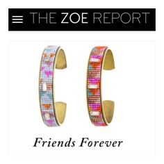 Isaro cuffs featured on The Zoe Report