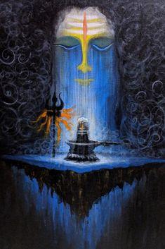 Maha Shivratri night is a perfect time for get blessings from lord Shiva. Maha Shivratri night is a perfect time for get blessings from lord Shiva. Arte Shiva, Shiva Art, Krishna Art, Hindu Art, Lord Shiva Pics, Lord Shiva Hd Images, Lord Shiva Family, Shiva Linga, Shiva Shakti