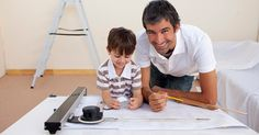 architect-dad-working-with-son yessssss