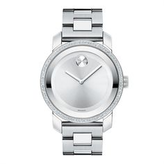 Movado watch. Nice! I love link watches!