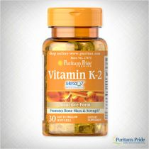 Have you heard of Vitamin K-2? Also known as Menaquinone, Vitamin K-2 activates enzymes responsible for bone formation and therefore plays an important role in maintaining strong, healthy bones.* Vitamin K-2 is not readily found in dietary sources, so consider adding a nutritional supplement to your wellness regimen.  Click through to learn more.