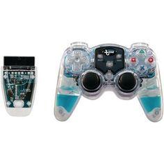 Dreamgear Playstation2 Lava Glow Wireless Controller (blue)