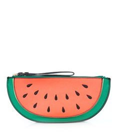 Now this is refreshing - the Red and Green Watermelon Clutch. #newlook #holiday