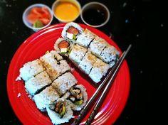"""Eurasia Fusion Sushi""  #Houston #Texas #Food #AdventuresInANewishCity"