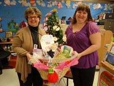 Our Pre-Kindergarten Teacher and her aide won the basket of pampering goodies for having collected the most box tops (votes) during the Teacher Snowman Competition.  It was so much fun we may have to make this an annual thing!  This class alone collected 629 box tops.  The contest brought in 3,453 box tops!