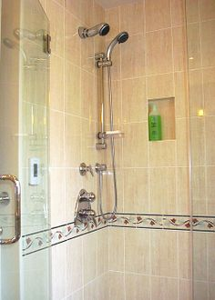Ceramic Tiles & GROHE Shower Fixtures