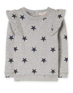 Star Ruffle Sweat