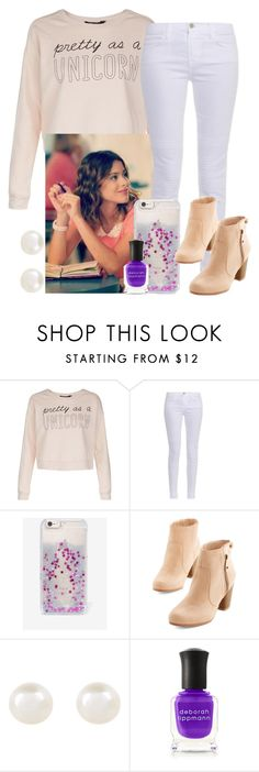 """Violetta Style #10 (in the Violetta 3)"" by violetta-leonetta ❤ liked on Polyvore featuring beauty, J Brand, Skinnydip, Accessorize and Deborah Lippmann"