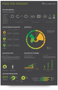 Food for Thought - GMO infrographic