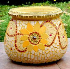 Sunflowers flowers pot