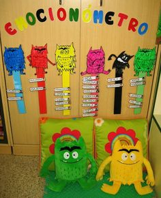 Peda Emotions Preschool, Emotions Activities, Preschool Classroom, Preschool Activities, Colors And Emotions, Feelings And Emotions, Monster Activities, Toddler Activities, Feelings Chart