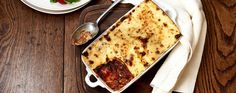 Beef and vegetable lasagne