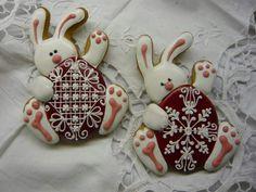 Galletas Cookies, Easter Cookies, Easter Treats, Cake Cookies, Tea Cakes, Cupcake Cakes, Christening Cookies, Cookie Decorating Icing, Sugar Cookie Frosting