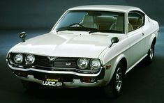 """Mazda Luce AP Series) Coupé, The second generation Luce was sold internationally as the The AP stood for Anti-Pollution, the car was fitted with a """"low-emission"""" AP rotary engine Mazda Cars, Jdm Cars, Classic Japanese Cars, Classic Cars, Fiat 850, Japanese Domestic Market, Mitsubishi Motors, Rx7, Japan Cars"""