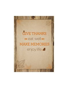 Thanksgiving Printable from Michaels Stores