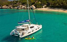 Catamaran sailing - Top 10 things to do in St Lucia